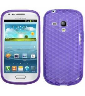 Funda TPU FPGSAI8190M para tu Samsung Galaxy s3 mini morada