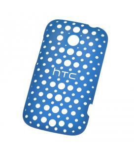 Tapa rígida HTC HC C780 azul para Desire C