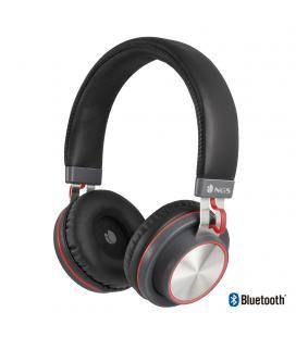 Auriculares bluetooth ngs ártica patrol red - bt 4.2 - alcance 10m - micrófono - función manos libres - batería 300mah