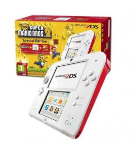 CONSOLA NINTENDO 2DS WHITE/RED +