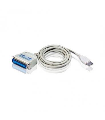 ADAPTADOR USB A PARALELO ATEN UC1284B-AT - Imagen 1