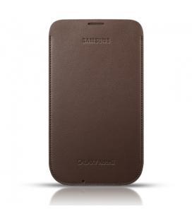 Funda protectora Samsung EFC- 1J9LDE marrón para Galaxy Note 2
