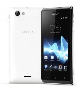 Sony Xperia J ST26i blanco libre