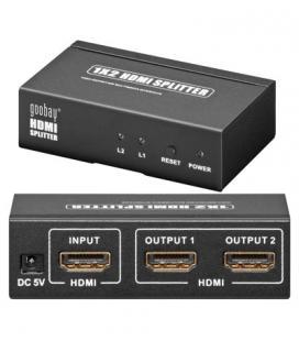 ADAPTADOR VIDEO HDMI SPLITTER HDMI X2 GOOBAY