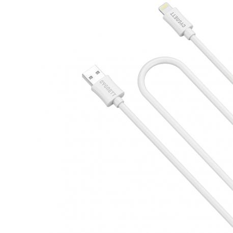 CABLE LIGHTNING CYGNETT SOURCE BLANCO - Imagen 1