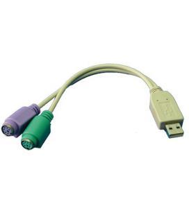 ADAPTADOR USB-M A 2X PS2-H LOGILINK AU0004A