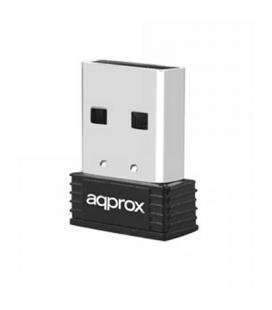 ADAPTADOR RED APPROX APPUSB150NAV3 USB2.0 WIFI-N/150MBPS NANO
