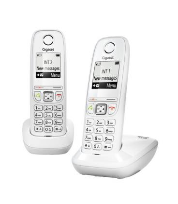telefono inalambrico siemens gigaset as405 duo blanco. Black Bedroom Furniture Sets. Home Design Ideas
