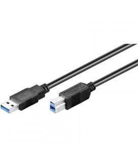 CABLE USB(A) 3.0 A USB(B) 3.0 GOOBAY 3M - Imagen 1