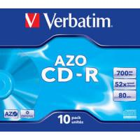 CD-ROM VERBATIM SUPERAZO CRYSTAL SURFACE