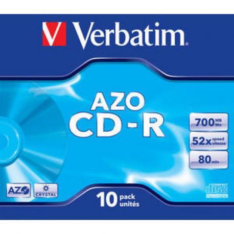 CD-ROM VERBATIM SUPERAZO CRYSTAL SURFACE - Imagen 1
