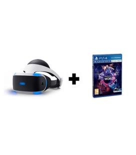 GAFAS SONY PLAYSTATION VR + VR WORLDS