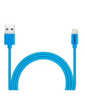 CABLE LIGHTNING A USB(A) ADATA AZUL