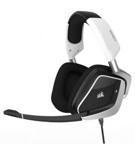 AURICULARES CORSAIR VOID PRO RGB WIRELESS SPECIAL EDITION PREMIUM GAMING DOLBY 7.1 BLANCO - Imagen 1
