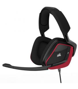 AURICULARES CORSAIR VOID PRO USB PREMIUM GAMING DOLBY 7.1 ROJO