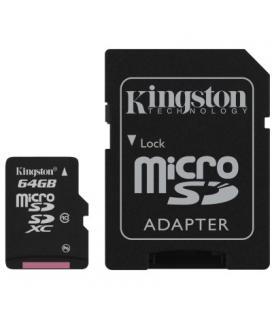 Tarjeta microSDXC1 Kingston 64Gb clase 10