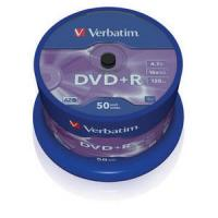 Dvd+r verbatim advanced azo 16x 4.7gb tarrina 50 unidades