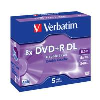 DVD+R DOBLE CAPA VERBATIM ADVANCED - Imagen 1