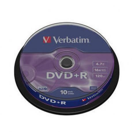 DVD+R VERBATIM ADVANCED AZO 16X - Imagen 1