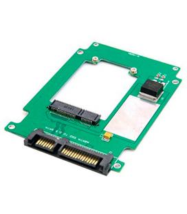 "Adaptador Convertidor PCBA Mini PCI-E SSD a SATA 2.5"" - Imagen 1"
