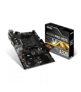 MSI Placa Base A320M PRO-VD/S mATX AM4