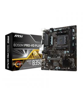 MSI Placa Base B350M PRO-VD PLUS mATX AM4