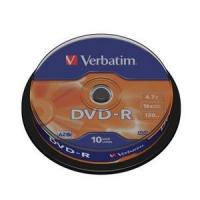 DVD-R VERBATIM ADVANCED AZO 16X