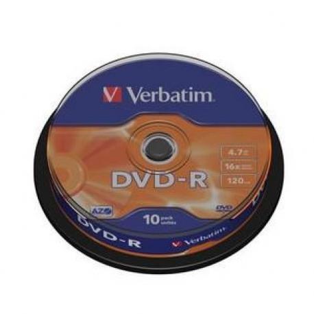 DVD-R VERBATIM ADVANCED AZO 16X - Imagen 1