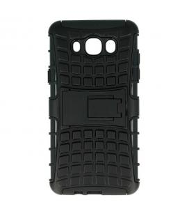 Carcasa de protección robusta para Samsung Galaxy J7 2016 negra