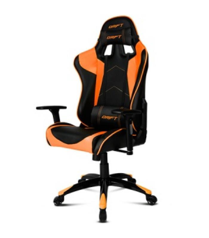 Drift silla gaming dr300 negro naranja for Sillas gaming rebajas