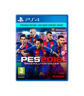 JUEGO SONY PS4 PES 2018 PREMIUM EDITION - Imagen 1