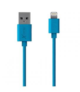 X-One CPL1000BL Cable Lightning plano Azul