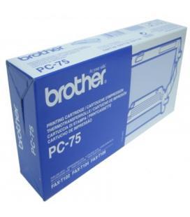 BROTHER Cartucho + Bobina Fax T104/106 - Imagen 1