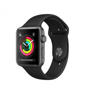 Apple Watch Series 3 Gris espacial con correa negra 42 mm