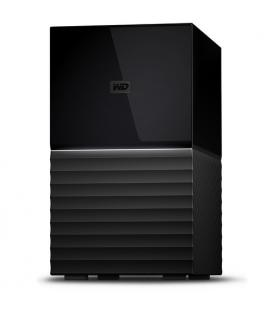 Western Digital My Book Duo 16000GB Escritorio Negro unidad de disco multiple