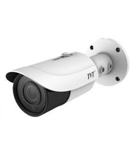 Cámara Tubular TVT 4en1 4Mpx IR30m Lente varifocal 2,8 a 12 mm