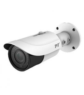 Cámara Tubular TVT 4en1 4Mpx IR50m Lente varifocal 3,3 a 12 mm