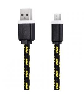 Cable USB a Tipo C (Carga & Transferencia) Piel 1m Biwond