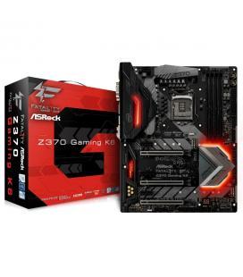 PLACA ASROCK Z370 GAMING K6,INTEL,1151 (C),Z370,4DDR4,64GB,VGA+DVI+HDMI,DUAL GBLAN,8SATA3,11USB3.1