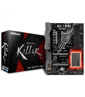 PLACA ASROCK Z370 KILLER SLI,INTEL,1151 (C),Z370,4DDR4,64GB,VGA+HDMI,GBLAN,6SATA3,9USB3.1
