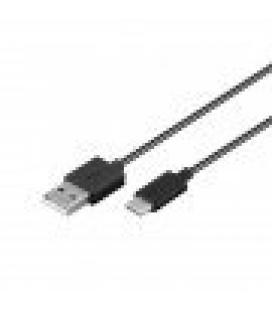 CABLE DE CARGA/SYNC GOOBAY USB-C NEGRO 1M