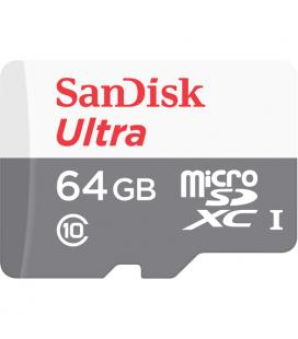 Sandisk Ultra MicroSDXC 64GB UHS-I + SD Adapter 64GB MicroSDXC UHS-I Clase 10 memoria flash