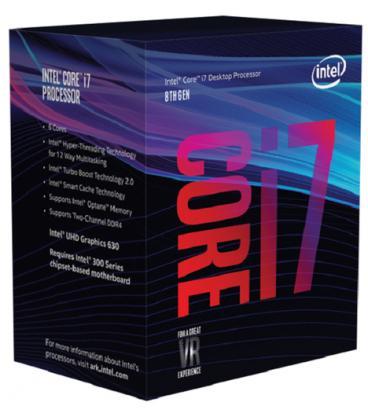CPU INTEL CORE 7-8700 - Imagen 1