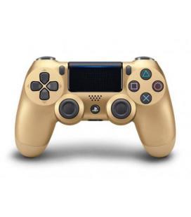 GAMEPAD ORIGINAL PS4 DUALSHOCK DORADO V.2 - Imagen 1