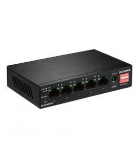 Edimax ES-5104PH v2 Switch 5x10/100MB + 4xPoE+ - Imagen 1