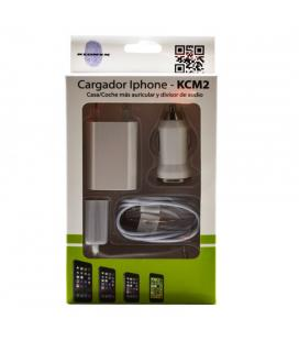 CARGADOR KL-TECH COCHE/MECHERO APPLE IPHONE 5/6