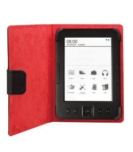 Funda universal phoenix phebookcase6+ para tablet / libro electronico ereader / ebook super fina / slim hasta 6'' negra simil