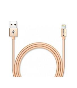 CABLE LIGHTING MICRO USB (B) A USB ADATA 1M DORADO