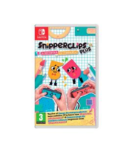 JUEGO NINTENDO SWITCH SNIPPERCLIPS - Imagen 1