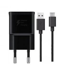 Cargador Samsung con cable USB-C negro EP-TA20EBE + EP-DG950